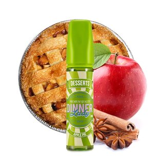 Apple Pie - Longfill 20ml Aroma in 60ml Chubby - Dinner Lady