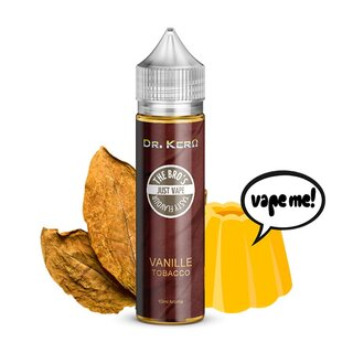 Vanille-Tobacco 10ml Longfill Aroma 60ml Flasche - Dr. Kero X The Bros