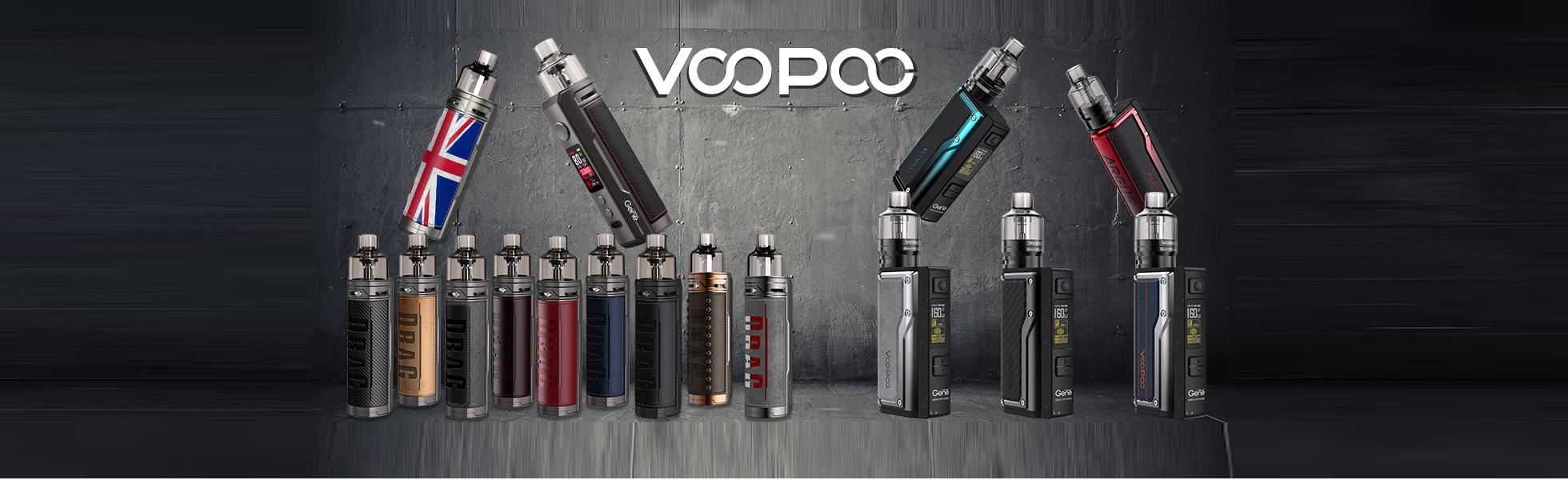 Voopoo - schickes Design und perfekter Geschm