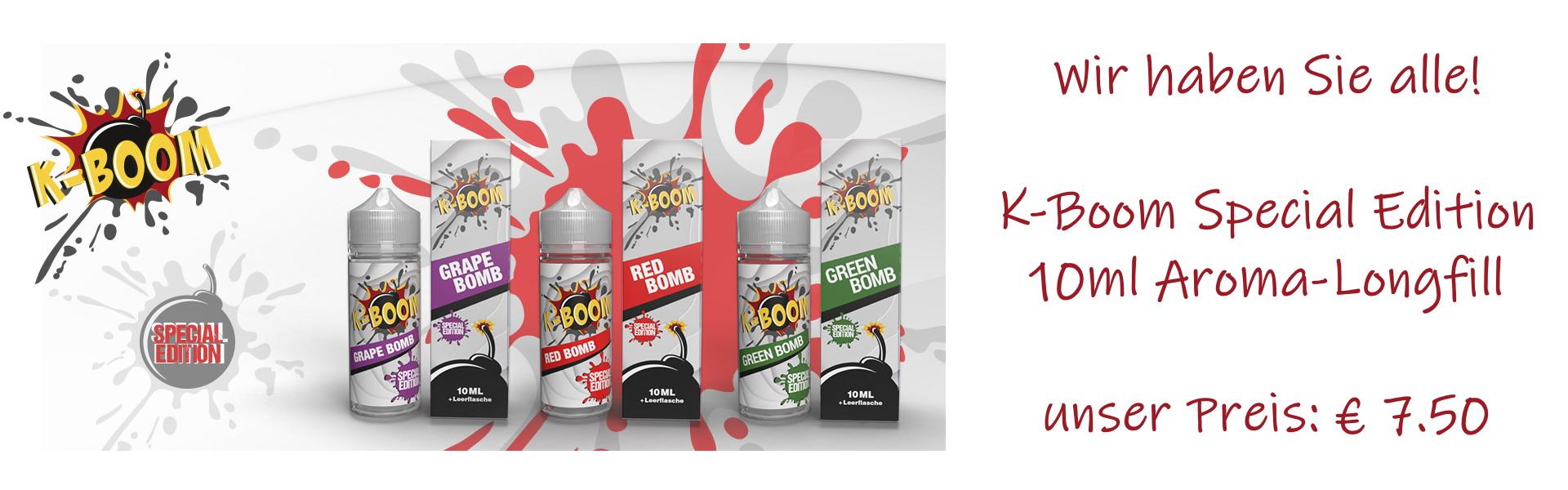 Die komplette K-Boom Special Edition bei uns.